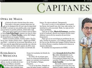 Capitanes Víctor Gordoa HSBC